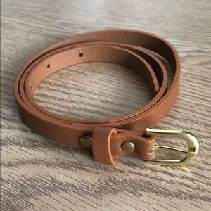 High waisted belt
